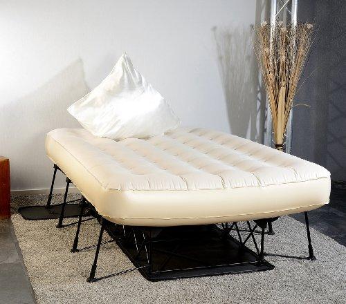 Carlo Milano Gästebett: Luxus-Luftbett mit integrierter Pumpe, 200 x 140 cm (Gäste Luftbetten) - 2