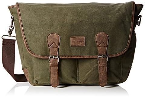 Animal Tidal Messenger Bag, 38 cm, 16 Liters, Olive Green