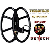 DETECH 12 × 10 S.E.F. Bobina de búsqueda de Mariposa para Teknetics T2,