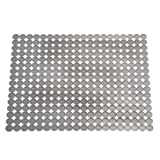 InterDesign Orbz Large Kitchen Sink Protector Mat, Graphite