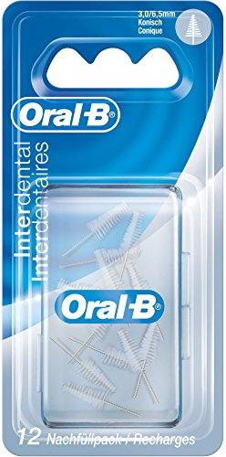 Oral-B Manual Interdental Nachfüllpack Konisch Fein, 3-6,5 mm, 12 Stück