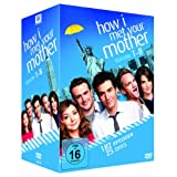 How I Met Your Mother - Season 1-8 Komplettbox (exklusiv bei Amazon.de) [25 DVDs]