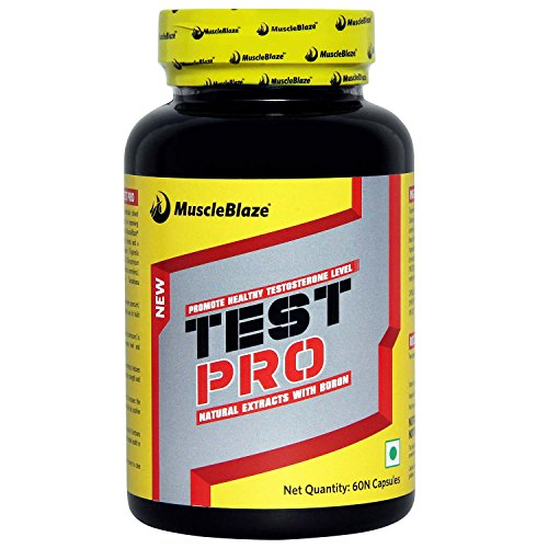 MuscleBlaze Test Pro - 60 Capsules  available at amazon for Rs.749