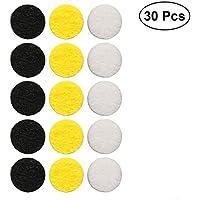 ROSENICE 30 Stücke 12,5mm Aromatherapie runde Pads, Ätherische Öle Diffusor Filz Pads für Halskette Armbänder... preisvergleich bei billige-tabletten.eu