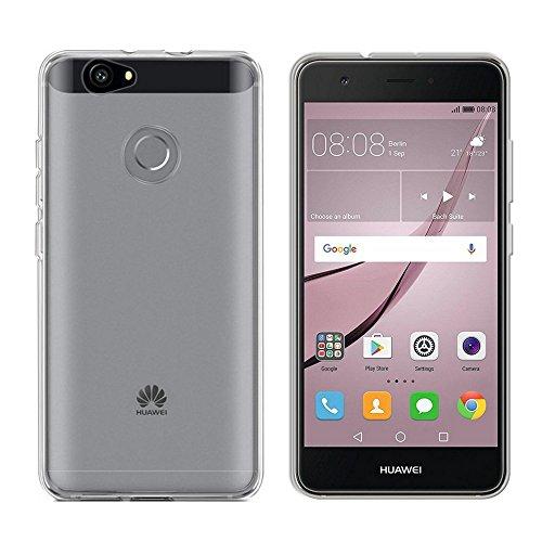 Colorfone Cover per Huawei Nova Trasparente Custodia Gel Bumper Tpu