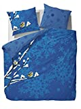 Vanezza Flanell Bettwäsche Fledger blue 135x200 cm + 80x80 cm