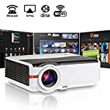 Video Projector TV Wifi HDMI HD Wireless LCD Projector 5000…