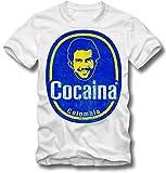 BOARDRIPPAZ T SHIRT COCAINE PABLO ESCOBAR TONY MONTANA SCARFACE EL CHAPO DROGEN, M
