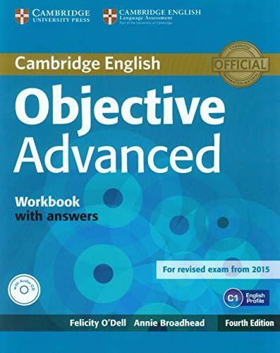By Felicity O'Dell Objective Advanced Workbook with Answers with Audio CD (4th Edition) [Paperback]