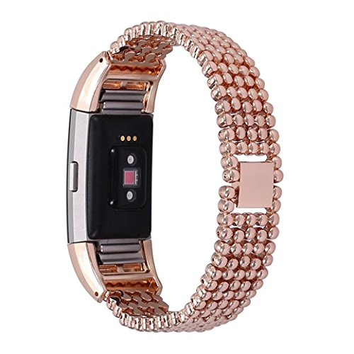 bzliner-stahl-bead-armband-smart-watch-band-band-uhrenarmband-fur-fitbit-charge-2-rose-gold