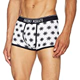 Antony Morato Men's Mmuw00108-fa140088 Adherent Boxers, White (Bianco), Large