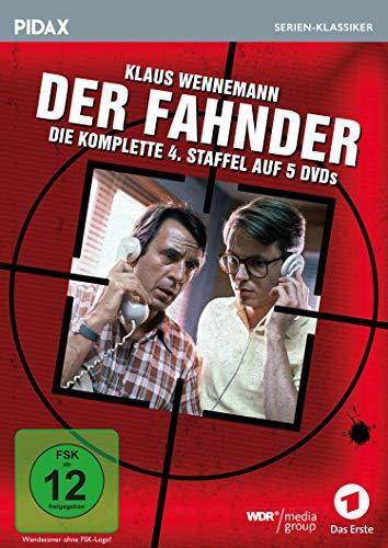 Der Fahnder, Staffel 4 / Weitere 18 Folgen der preisgekrönten Kult-Krimiserie (Pidax Serien-Klassiker) [5 DVDs]