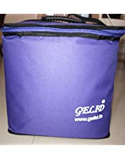 GELID Insulated Cooler Bag with 6 Coolant Pouch for Outdoors, Camping, Picnic, Trekking