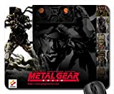 Metal Gear Solid Mouse Pad, Mousepad (10.2 x 8.3 x 0.12 inches)
