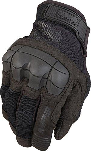 Mechanix M-Pact 3 Molded Knuckle Tactical Glove Handschuh mit Knöchelschutz Model 2016 (Schwarz, XL)
