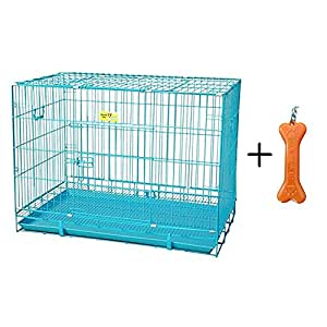 Goofy Tails Dog Steel Cage, Small