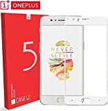 #10: Case U OnePlus 5 Tempered Glass Screen Protector - Soft Gold (White) [Limited Time Discount Offer]