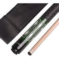 """JY 57"""" - Adhesivos de madera de arce, diseño ergonómico, 2 unidades, color blanco, rosa, rojo, azul, verde y negro, C1*1, C1*1, 57'' 2 pieces pool cue"""