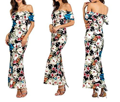 BF-dress Damen Empire Kleid Beige