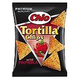 10 Tüten Chio Tortilla Chips Wild Paprika a 125g Premium Qualität