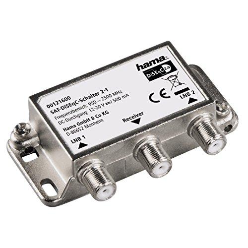 Hama 0121600 2-1 Satelliten-DiSEqC Schalter
