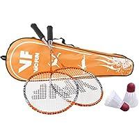 Vicfun Set de bádminton Start para Hobby, Naranja, One size, 796/1/6