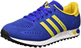 adidas Unisex-Erwachsene LA Trainer EM Low-Top, Blau (Bold Blue/EQT Yellow/FTWR White), 36 2/3 EU