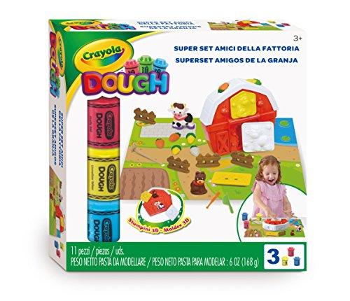 Crayola A1-1967-Super Set Freunde der Bauernhof-Modelliermasse