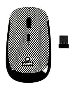 Port Designs SQUARE ME 180713 Souris sans fil optique avec Technologie 2,4 GHz