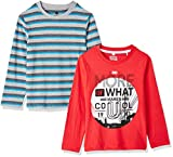 #9: Cloth Theory Boys' Regular Fit T-Shirt (Pack of 2)