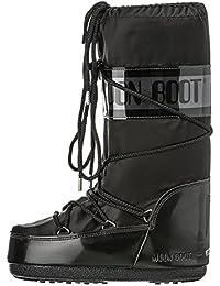 Moon Boot Glance - Botas de nieve, talla: 31/34, color: Negro (Nero 003)