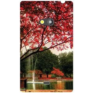 Nokia Lumia 625 Back Cover - Greenery Designer Cases