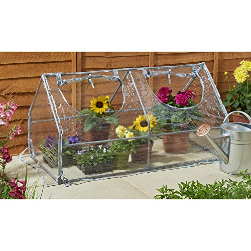 Heavy Duty Sterling PVC Cloche Greenhouse with 2 Openings