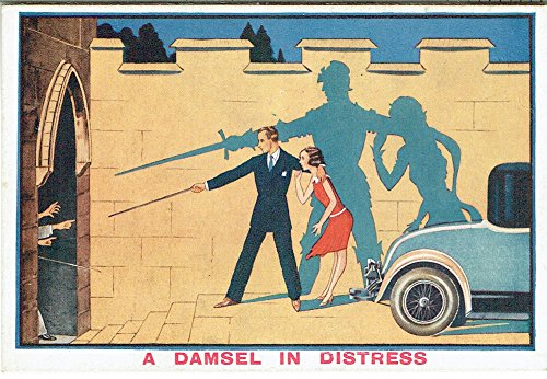 r-the-michael-diamond-collection-mary-evans-picture-library-a-damsel-in-distress-by-ian-hay-and-pg-w