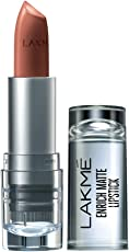 Lakme Enrich Matte Lipstick, Shade BM10, 4.7g