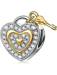 NinaQueen - Amour - Charm pour femme argent 925