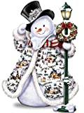 DIY 5D Diamond Painting kit, Square Diamond Cross Stitch ricamo Christmas cute Snowman Art Craft per tela Wall Decor