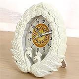 De FLIN FLON Peacock Table Alarm Clock