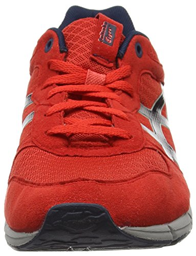 Asics Shaw Runner, Sneakers basses mixte adulte Rouge (Red 2350)