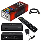 MAG 254 Original HB-DIGITAL IPTV SET TOP BOX Multimedia Player Internet TV IP Receiver with UK AC power plug + HB Digital HDMI cable