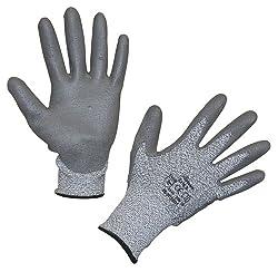 Kerbl 297346 Schnittschutzhandschuh Safe 5 aus Glasfaser / Dyneema, Größe: 8