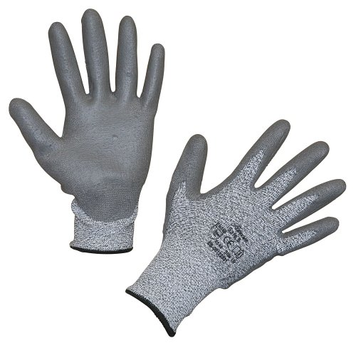 Kerbl 297346 Schnittschutzhandschuh Safe 5 aus Glasfaser/Dyneema, Größe: 8