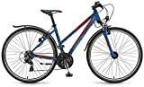 Winora Grenada 28 Zoll Crossbike Damen Blau/Rot Matt (2016), 41
