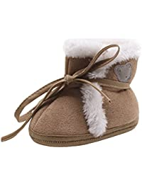 Kukul Zapatos suaves del bebé - Botas de Nieve para 0-18 meses bebé, Zapatos de bebés Unisex