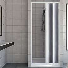Puerta de ducha de plástico PVC, mod.Vergine con apertura lateral, Ver110AL
