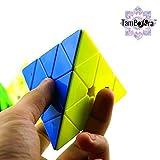 #10: TamBoora ™ Pyraminx Stickerless Speed Cube Triangle Cube Puzzle