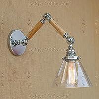 XX&GX Lampada da parete di camera da letto d'epoca industriale