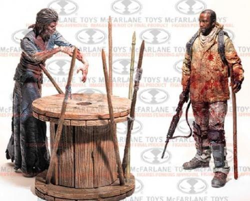 The Walking Dead TV - Morgan Jones & Walker Deluxe - Dead Deluxe Walking