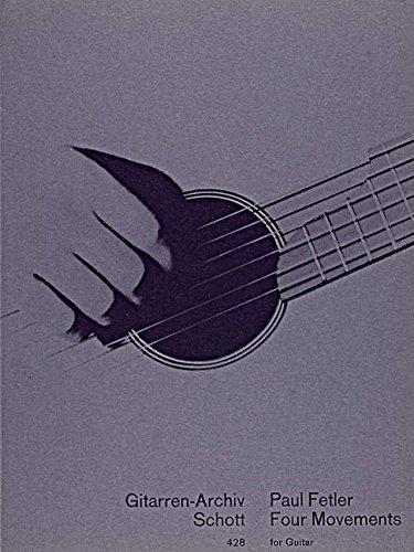 Four Movements Guitare