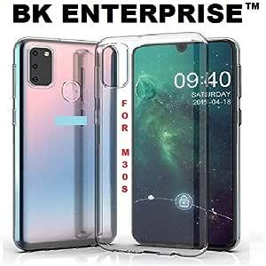 BK EnterpriseTM Transparent Back Covers for Samsung Galaxy M30S Back Covers/Back Covers for Samsung Galaxy M30S Transparent Back Cover/Back Case for Samsung Galaxy M30S Cover